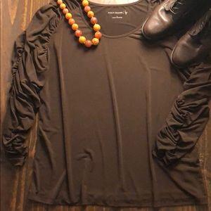 Susan Graver blouse, women's size L